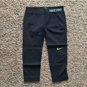 Nike Pro Seamless Training Capris - Black